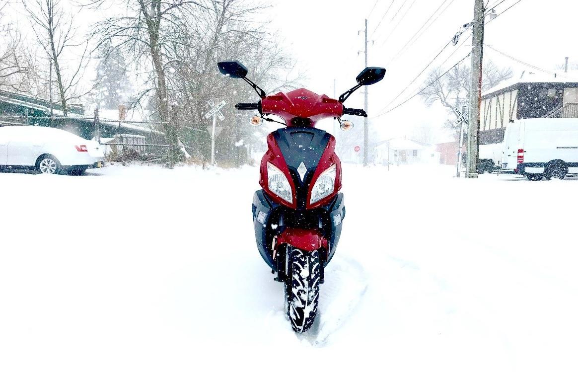 Cum ne intretinem scuterele iarna?