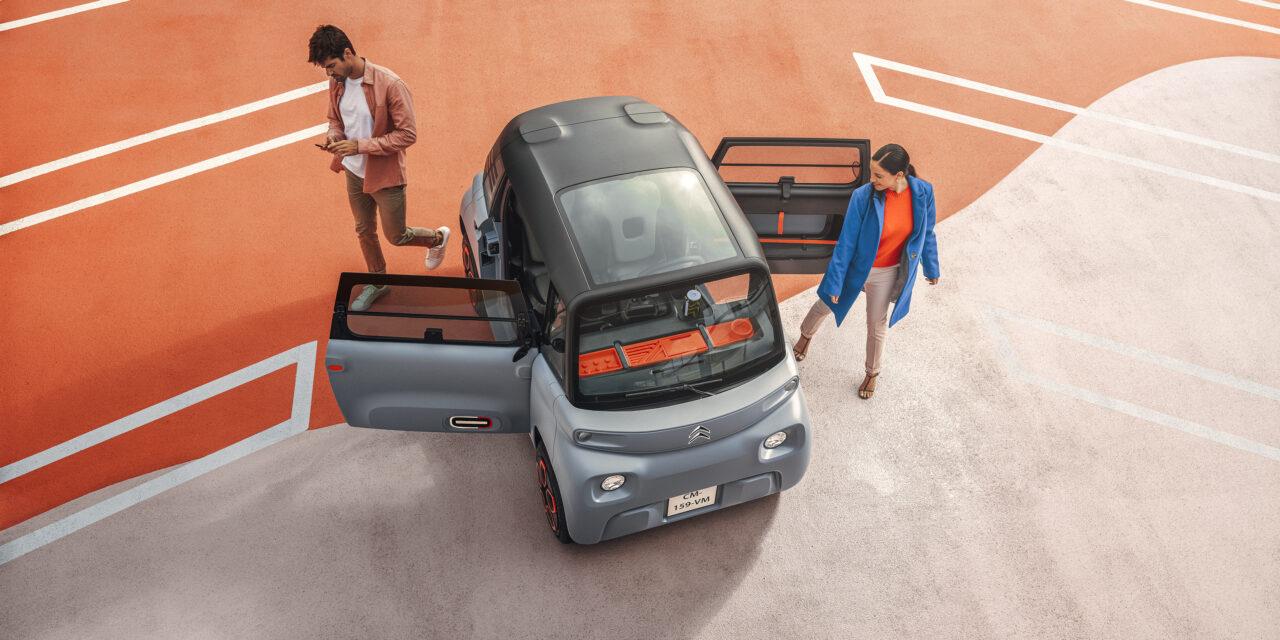 CITROËN AMI 100% electric la 4990 euro – disponibil in Romania din 2022